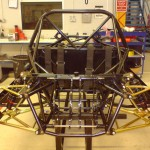 Rear View of Suspension and Motor Plates