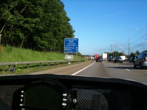 M25 - sign